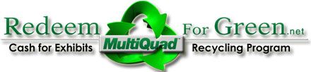 Redeem for green recycling program